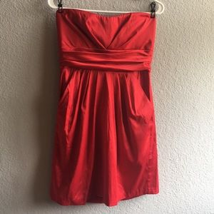Gorgeous red holiday dress size large